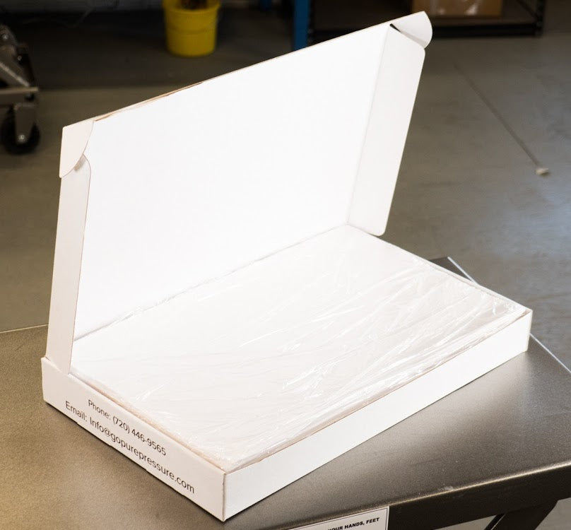 "Pure Pressure 9"" x 20"" Parchment Paper Sheets 35lb Ultra Bake - 13Leafz"