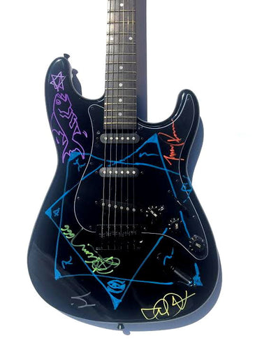 Tool Band Autographed Electric Guitar
