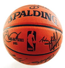 Cleveland Cavaliers 2014-15 Team Autographed Basketball