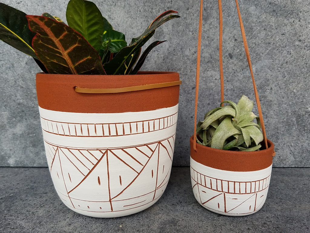 Hanging Planter - Terracotta