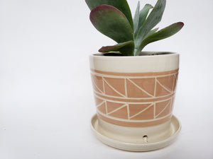 Tabletop Planter - Peach