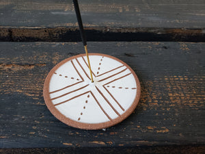 Incense Burner - Compass