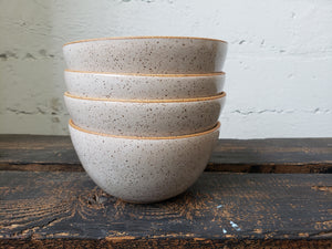 Dinnerware - Speckled White - Made to Order