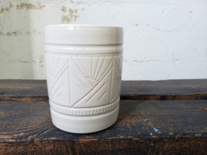 Utensil Holder/Crock - Sun and Mountains