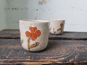 Tea Cup - Poppies