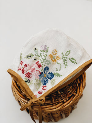 Cross stitched Floral