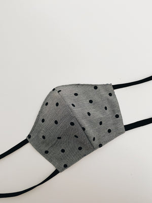Adult polka dotted mask