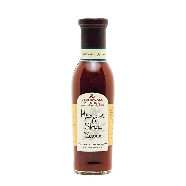 stonewall kitchen - mesquite steak sauce.