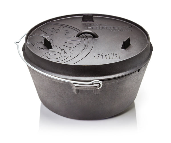 Petromax Dutch Oven ft18 platte bodem, FT18-T