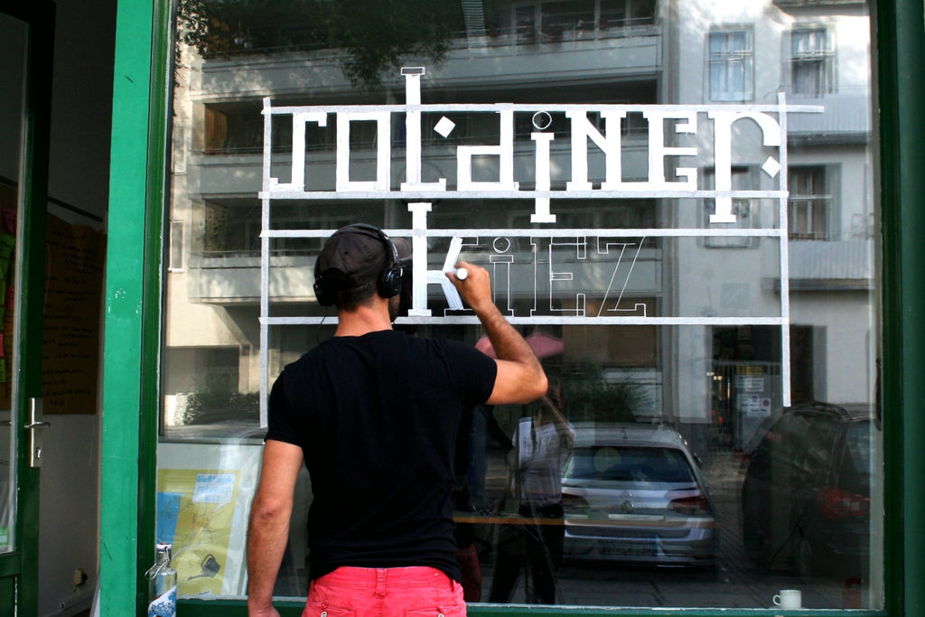 Schaufenster - Sign Painting