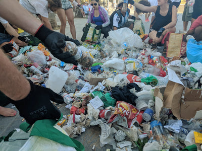 Beach Clean-up Barcelona  (June 10th 2018)