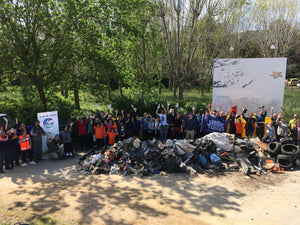 MASSIVE CLEAN-UP, SANTA CRISTINA D'ARO (APRIL 7TH 2019)