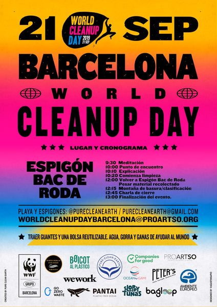 Beach cleanup barcelona