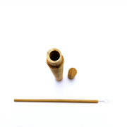 Natural Bamboo Drinking straw - Sloppytunas