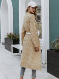 Mohair long cardigan knitted