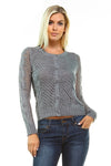 Margaux Open Knit Cardigan