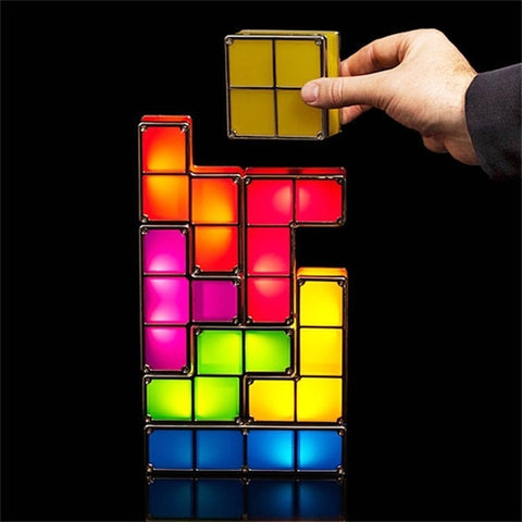 Tetris LED Desk Lamp Light