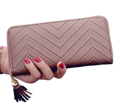 Tassel Clutch Purse