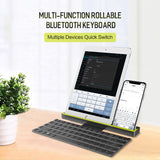 Portable Rollable Wireless Bluetooth Keyboard for iPhone, iPad, iPod, iPhone, Android & Windows Smart Phone Devices