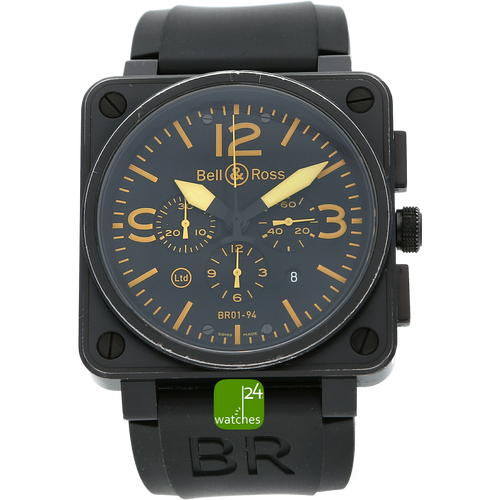 Bell & Ross Chronograph lim orange Automatik 46 mm watches24.com