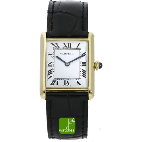 Cartier Louis Paris mechanisch 23x29 mm Gold www.watches24.com