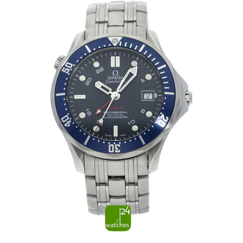 OMEGA SEAMASTER | 300 m | Co Axial | GMT | 41 mm | 2535.80.00 | www.watches24.com