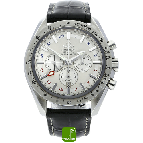 Omega Speedmaster Broad Arrow Co Axial GMT 3881.30.37