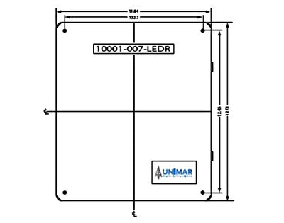 Transfer Relay 10001-007-LEDR Unimar Lighting Solutions