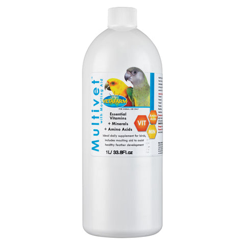 Multivet - with Moulting Aid - AVIZONA