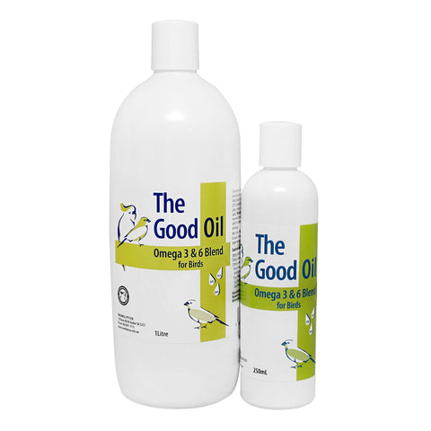 Good Oil for Birds (Breeding Oil) Omega 3 & 6