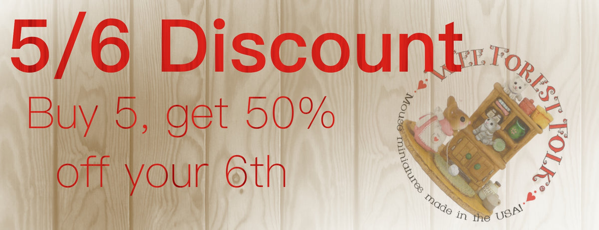 Wee Forest Folk Sale, Discount, Special, Clearance