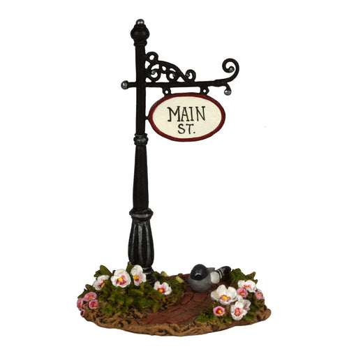 Main Street Sign Post