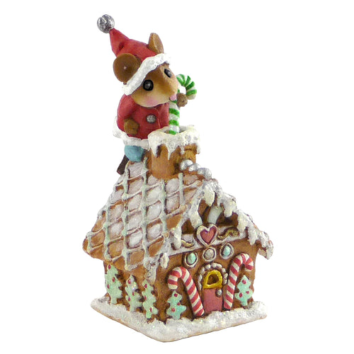 Wee Santa's Gingerbread House