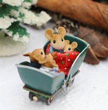 M-453Q Cozy Carriage ~ Wee Forest Folk