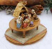 A-57 Chris-Mouse Pageant in Miniature ~ Wee Forest Folk