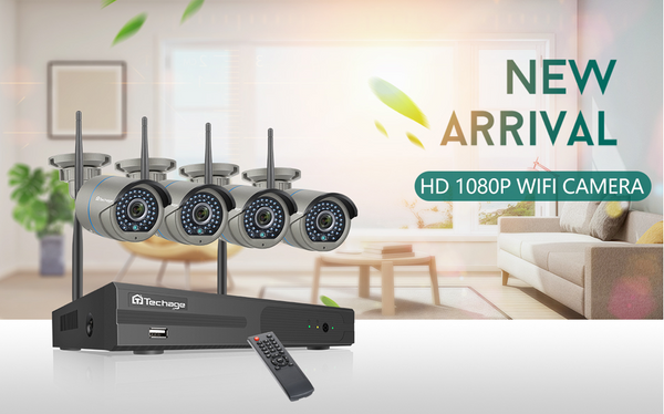 Pick the right wireless security camera system for your family!