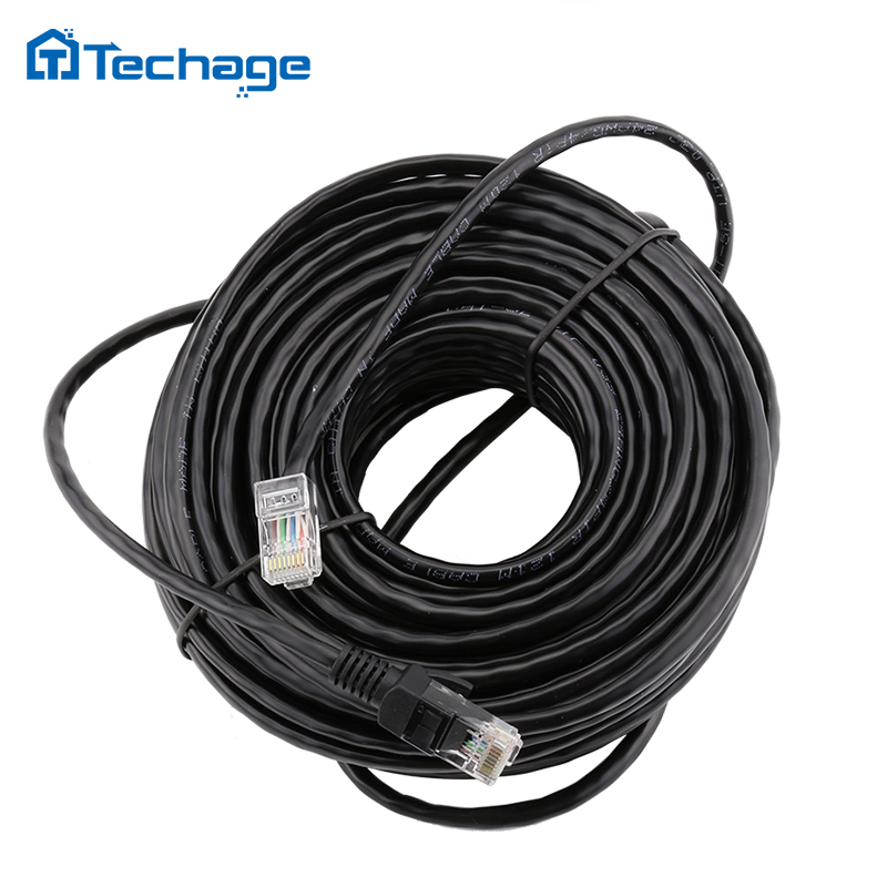 10M 20M 30M 50M cat5 Ethernet Network Cable RJ45 LAN Cable Wires for CCTV POE IP Camera System