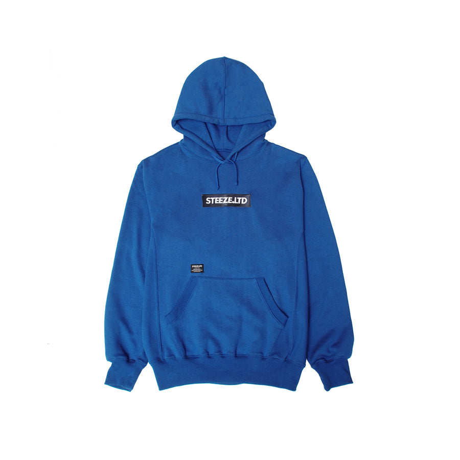Authentic Logo Box Pullover Hoodie