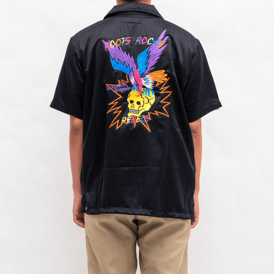 Mutated embro aloha shirt