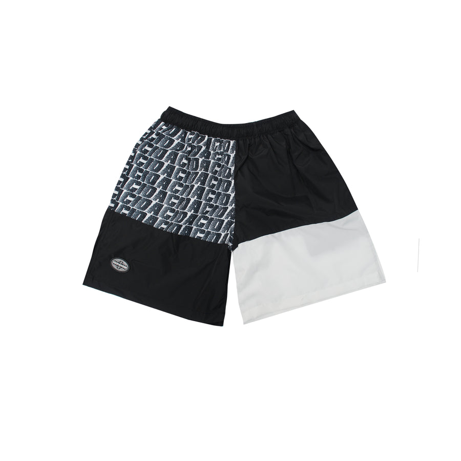 ACID SHORT PANTS - BLACK