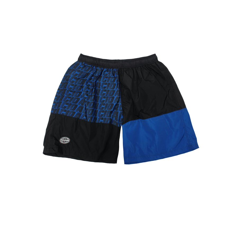 ACID SHORT PANTS - BLUE
