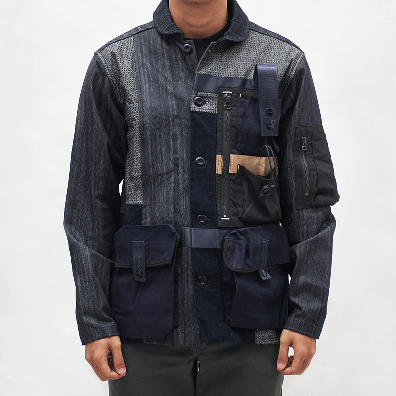 Nomad Coverall / Patchwork