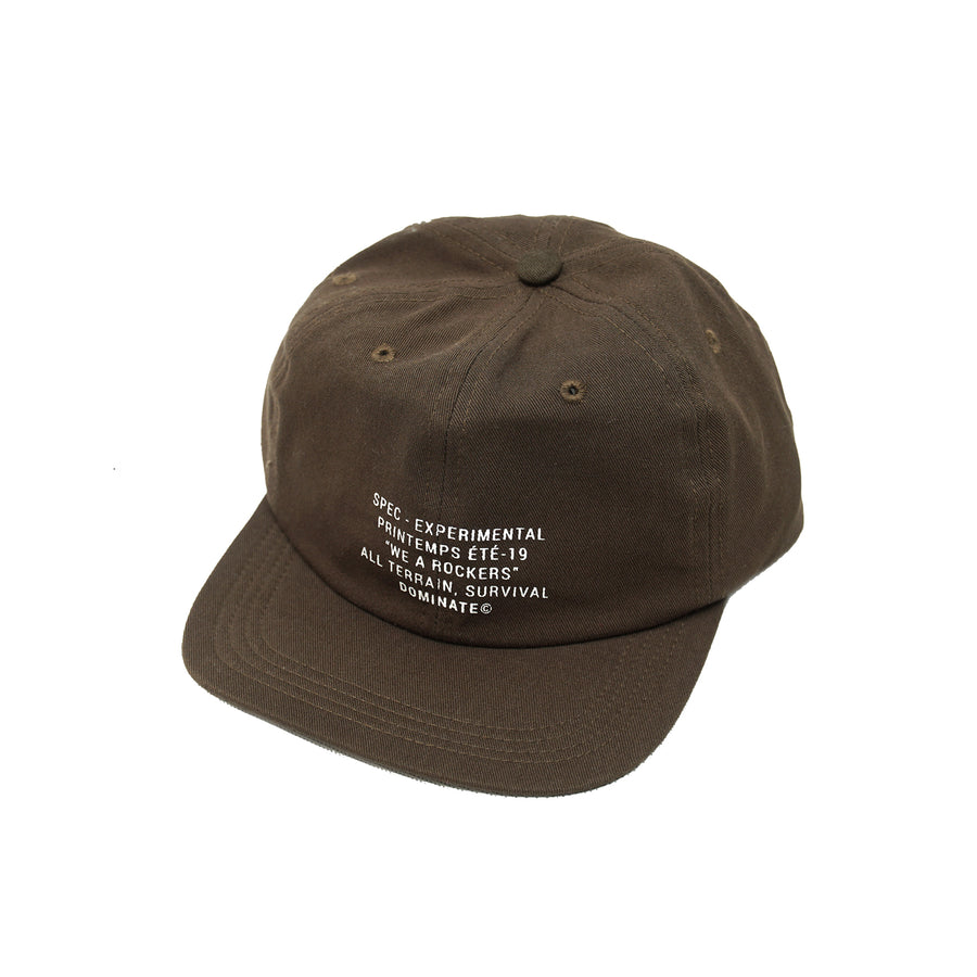 6 Panel Unconstructed Hat