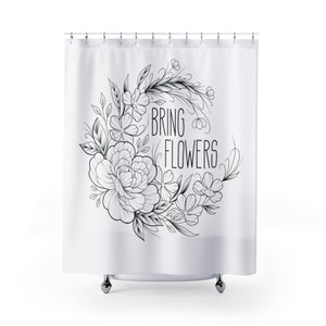 Bring Flowers Shower Curtain (USA)
