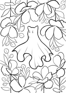 socialDISTANCING - colouring page