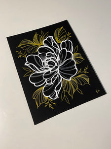 YOUR OWN CUSTOM FLORAL DRAWING