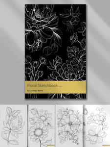 Floral Sketchbook Vol.I