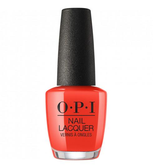 OPI Lisbon Collection - A Red-Vival City