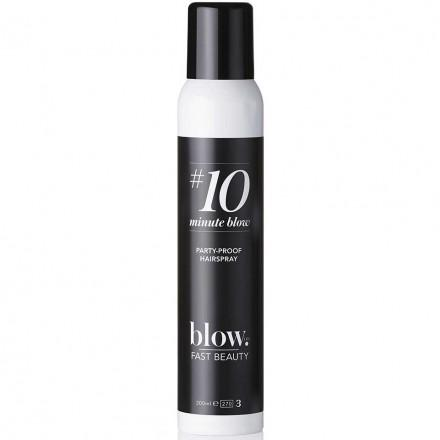 #10minuteblow Party Proof Hairspray