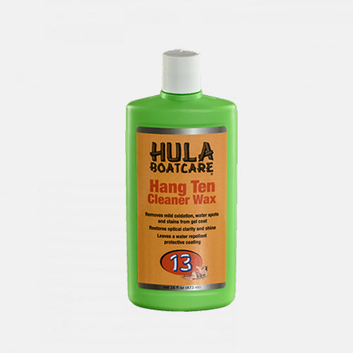 Hang Ten Gel Coat Cleaner Wax #13